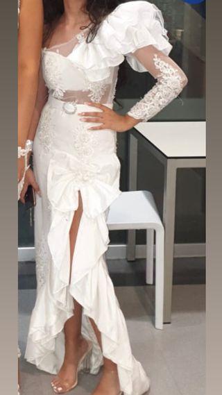 Vestido de boda gitana + Complementos