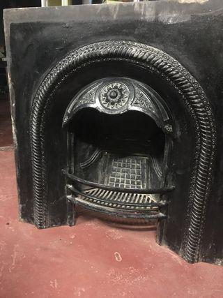 Hogar chimenea hierro fundido