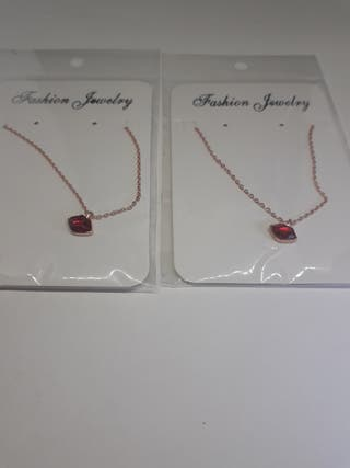 Hot New 925S.S Lipstick Flying Kiss Necklace Pen