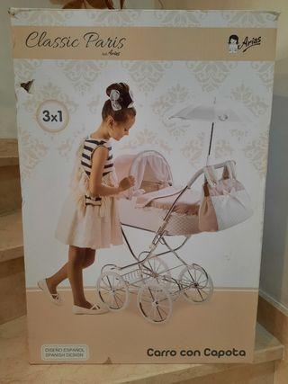 carro bebé con capota
