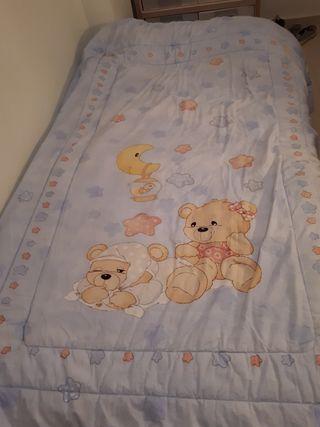 Edredón infantil cama 90 cm