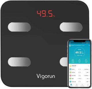 Báscula Digital App 17 datos del cuerpo, Max 180kg