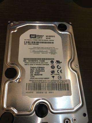 Disco duro 3.5 1TB Western Digital