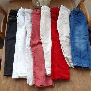 Lote 8 pantalones ropa niño niña