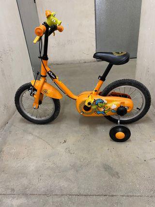 Bicicleta niñ@s a partir 2 años
