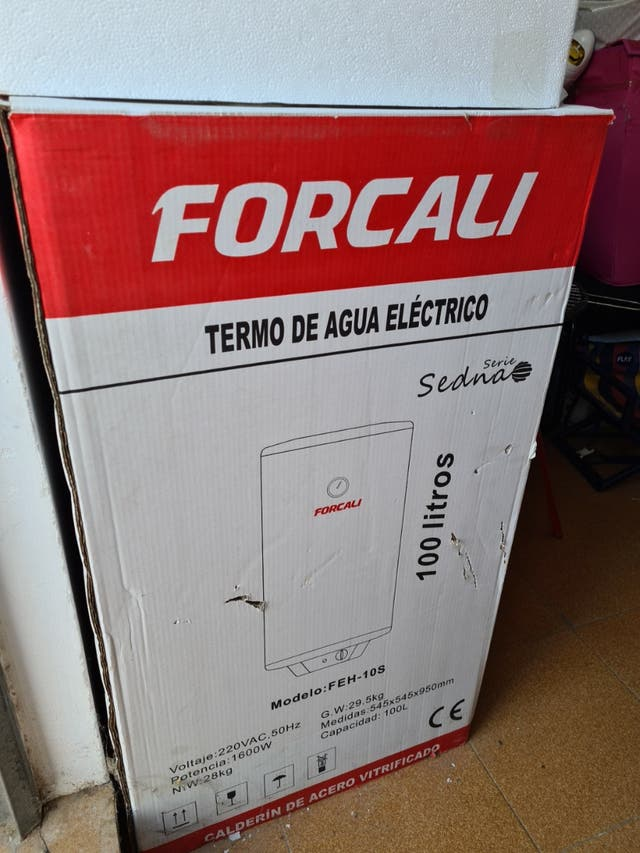 Termo electrico Forcali