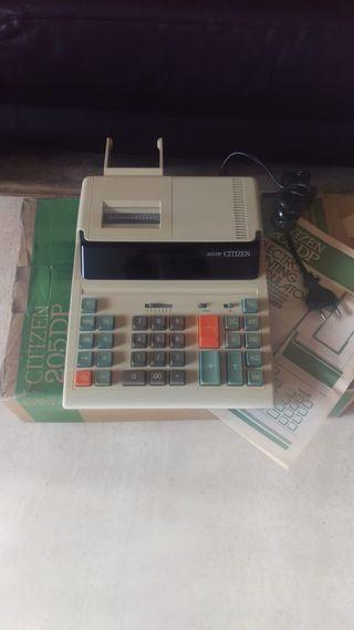 Calculadora impresora Citizen