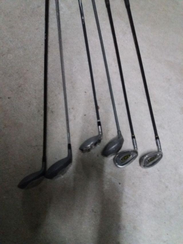 palos de golf y piezas 6 palos