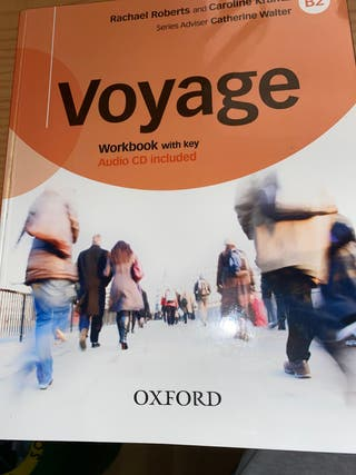 Workbook inglés VOYAGE con CD (B2)
