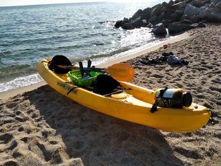Kayak doble, alquiler