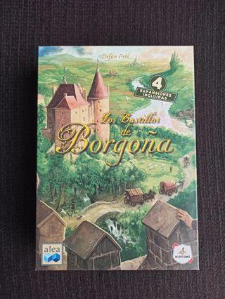 Vendo Castillos de Borgoña, juego de mesa.