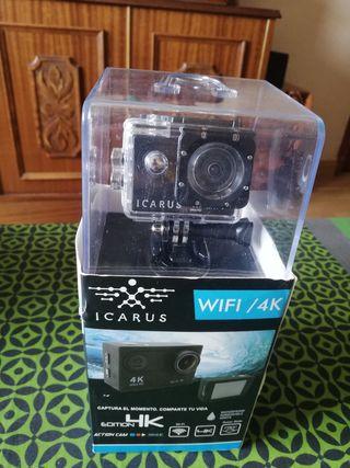 cámara deportiva icarus