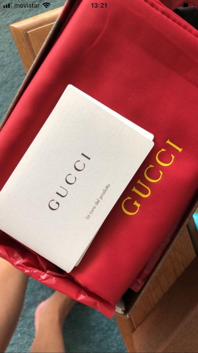 Gucci Horsebit brown sandal