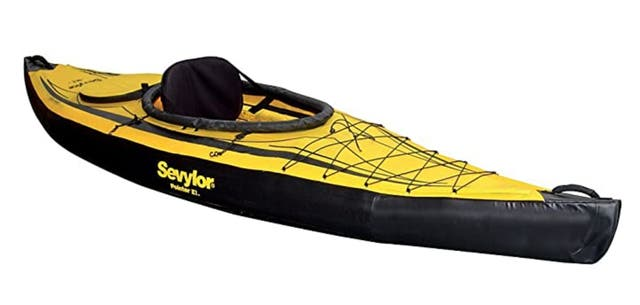 Kayak Sevylor Pointer K1 con remo