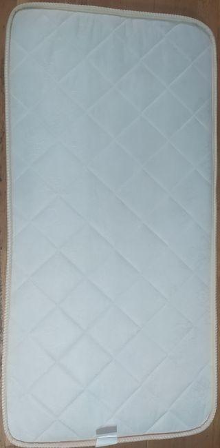 colchón cuna 59x 117 cms