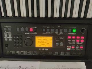 teclado eléctrico Korg ek50