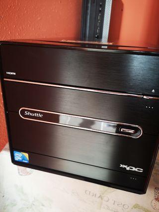PC SHUTTLE XPC 4 GIGAS, 250 HDD, CORE 2 DUO