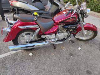 moto Hyosung aquila gv 125cc