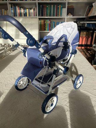 Carrito de bebé de juguete