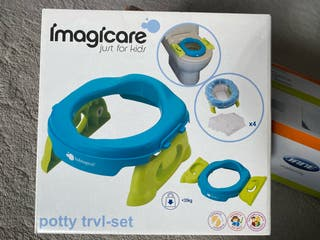Potty trvl-set Imagicare adaptador WC