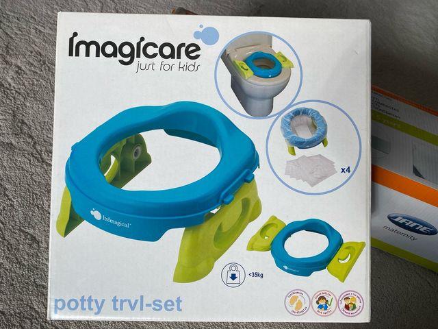 Potty trvl-set Imagicare adaptador WC