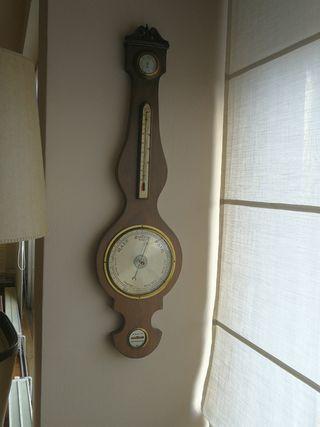 barómetro termómetro de pared