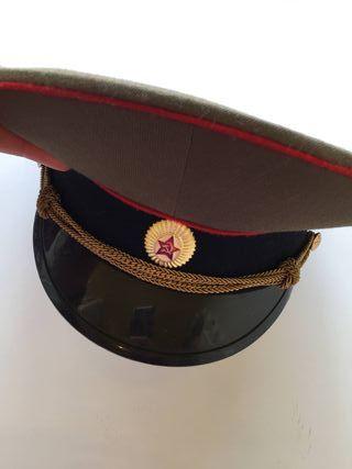 Gorra del ejército ruso