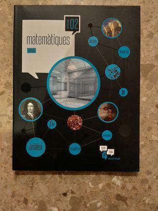 Libro 2n Bachillerato Matemáticas