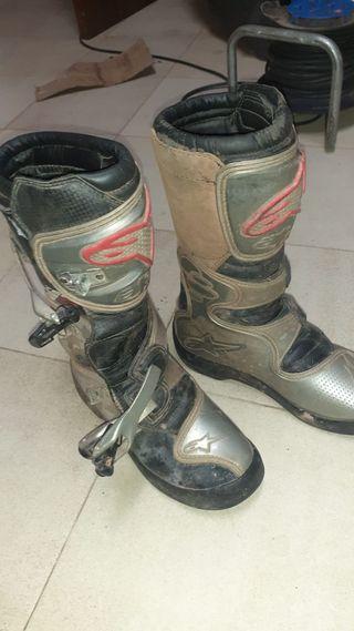 Botas de moto alpinestar para hacer enduro o cross