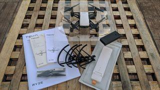 Dron DJI Tello + repetidor wifi Xiaomi