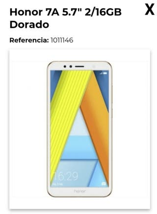 """HONOR 7A 5.7"""" 16GB"""