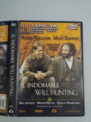 pelicula dvd el indomable will hunting