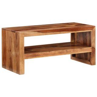Mesita para la TV de madera de sheesham maciza