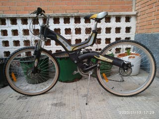 bicicleta de descenso hamer