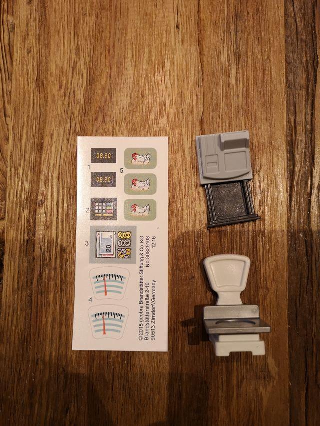 Caja Registradora y Balanza Playmobil