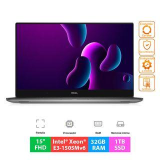 Dell Precision 5520 - Xeon QC E3- 32GB - 1TB SSD