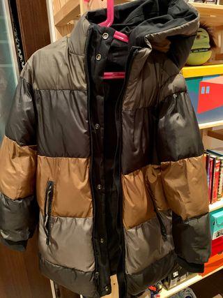 Abrigo reversible Zara