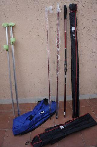 Dos cañas de pescar Kali Kunnan Funtail 420 Híbrid