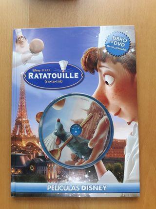 Ratatouille (Películas Disney) libro + DVD