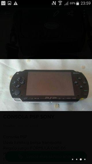 PSP poco uso.