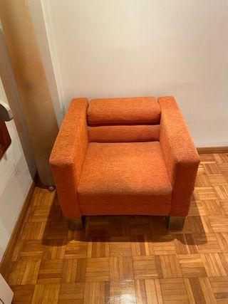Sofá, sillón una plaza diseño