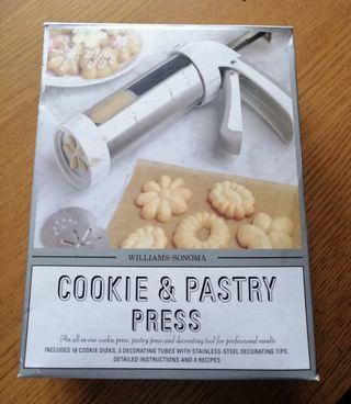 Caja para hacer galletas