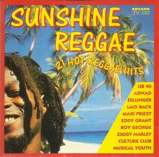 CD. SUNSHINE REGGAE. 21 HOT REGGAE HITS.