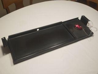Bandeja extraíble teclado ordenador