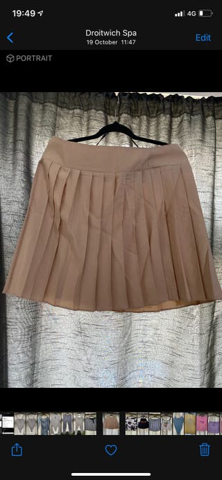 Tennis/pleated skirt size 16