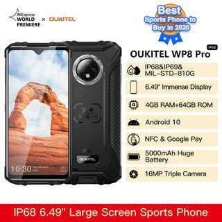 Móvil Todoterreno Oukitel Wp8 pro, 4 RAM, 64gb
