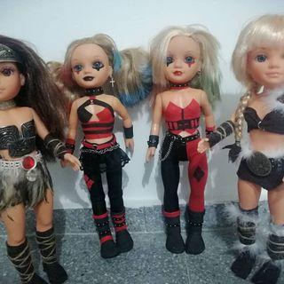 muñecas Nancy guerreras y harley
