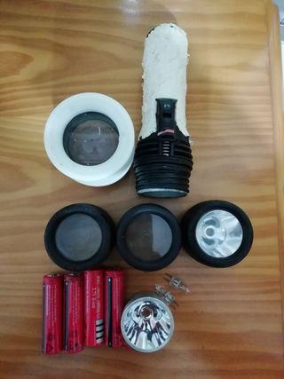 accesorios pesca linterna pesca submarina, buceo