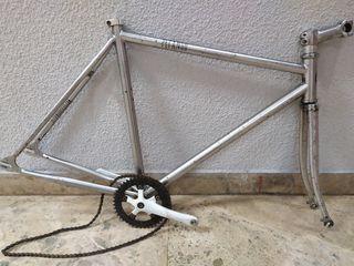 Cuadro bicicleta fixie Pitango Londres