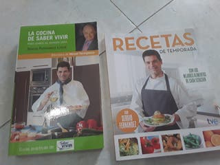 Libro Cocina Saber Vivir y Recetas de temporada